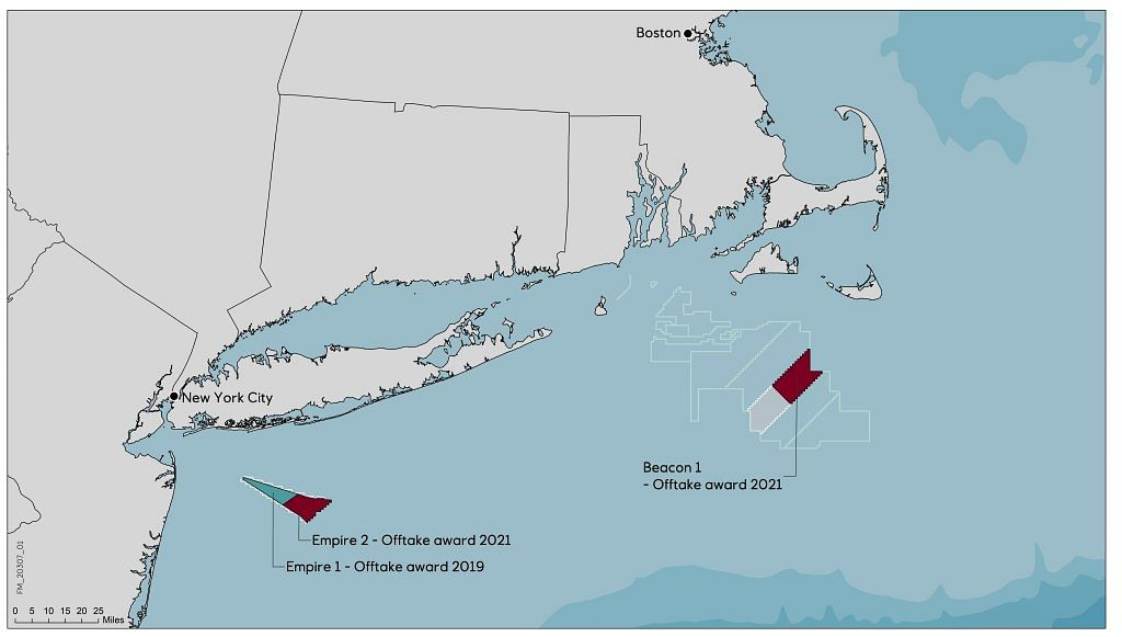 Equinor & bp Selected for Offshore Wind Power in US