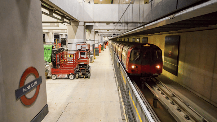 First trains Complete Journey on Northern Line Extension