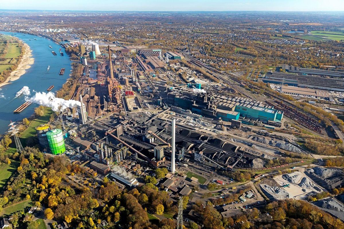 Hydrogen Based Steel Feasible at Thyssenkrupp Duisburg