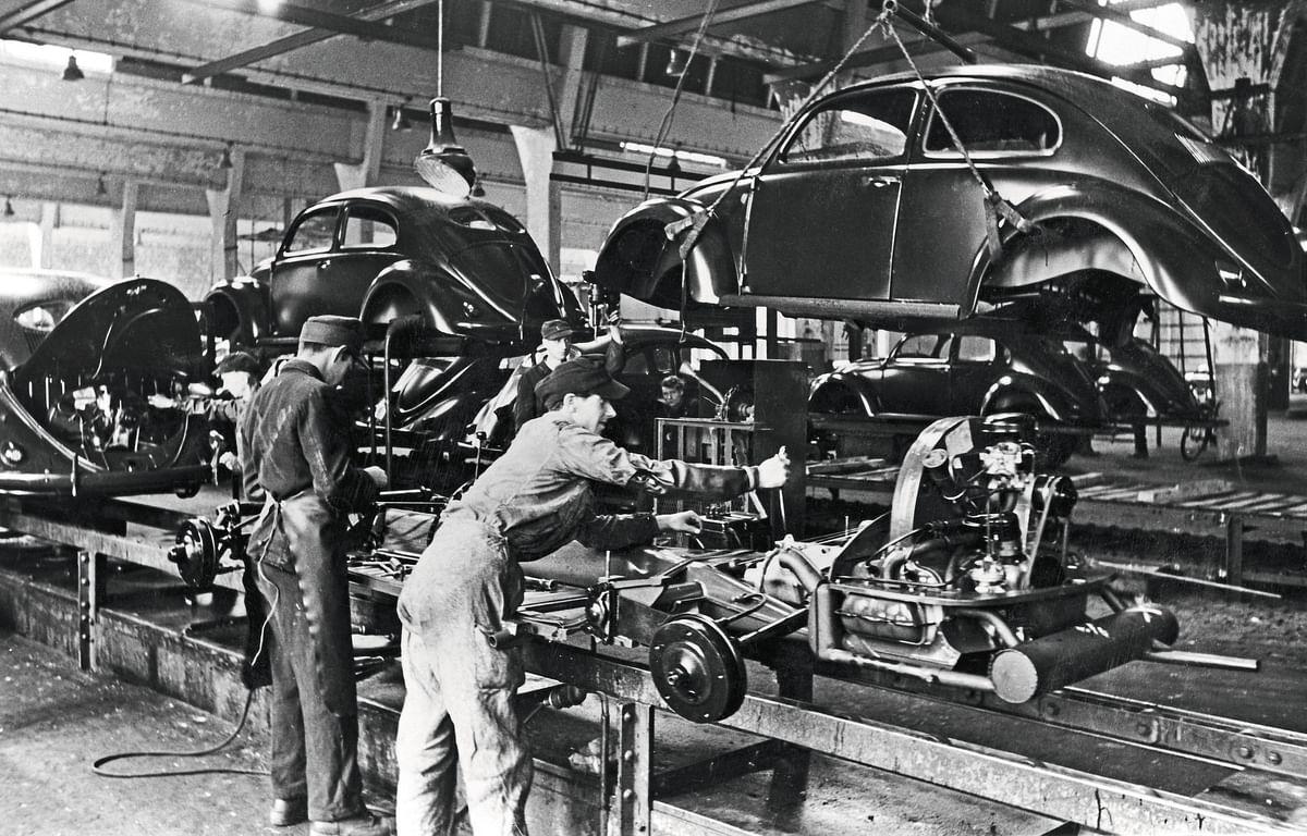 Volkswagen Beetle Producion in Wolfsburg Sarted 75 Years Ago