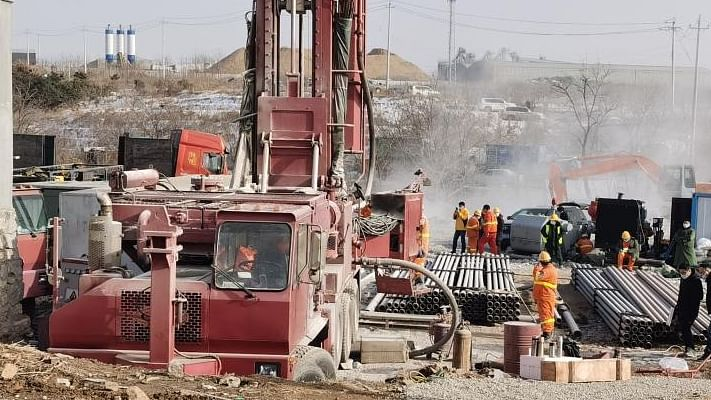 Rescuers Racing to Save 11 Trapped Miners at Gold Mine in Shandong
