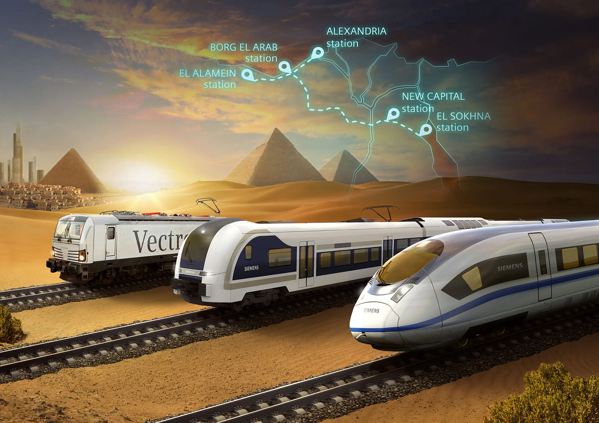 Orascom to Build High Speed Rail System in Egypt