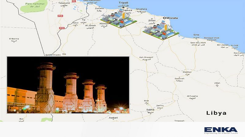 Misurata & Tripoli Simple Cycle Power Plants to Start in Libya