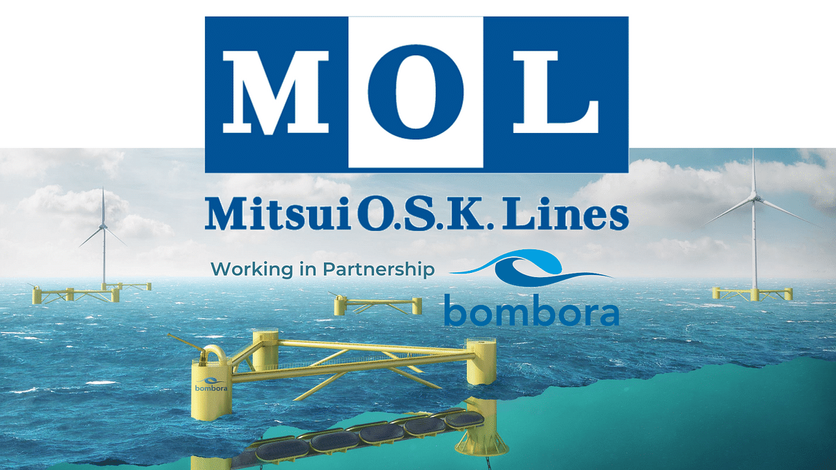 Bombora & Mitsui OSK Lines for Marine Energy Projects in Japan