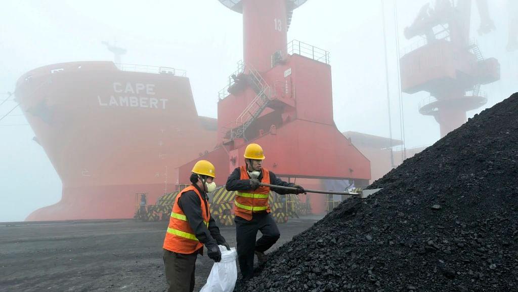 China Australia Coal Imports