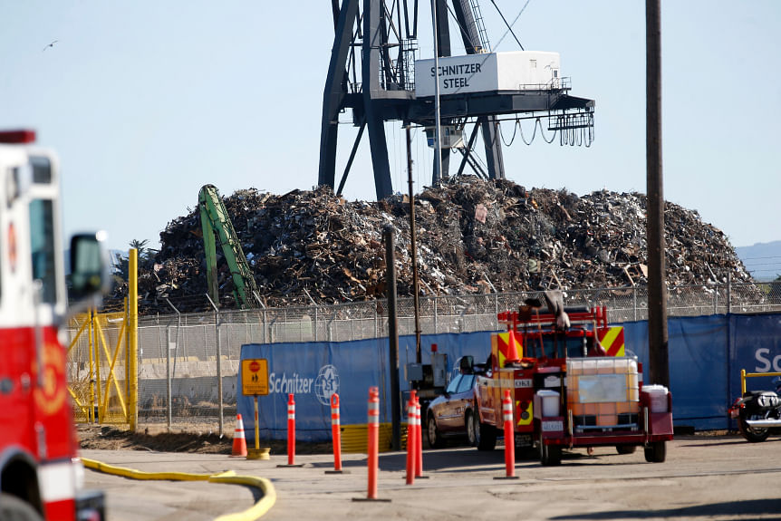Action Starts against Schnitzer Steel Shredding Plant in Oakland