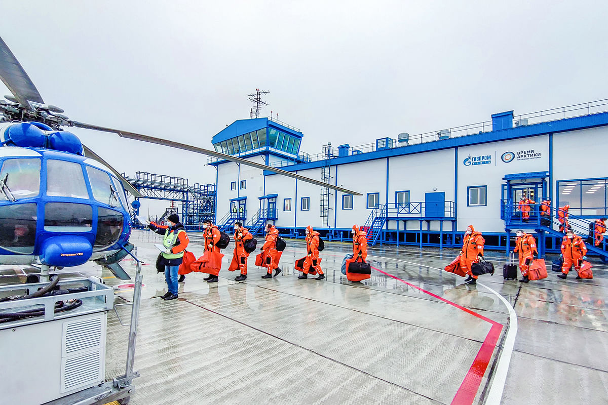 Gazprom Neft Commissions New Heliport in Arctic