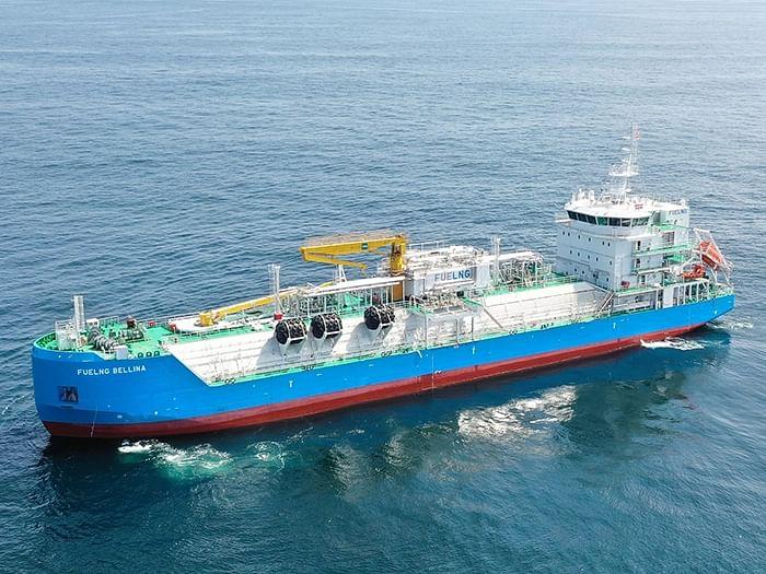 ABS & Keppel Smart Bunkering Vessel FueLNG Bellina
