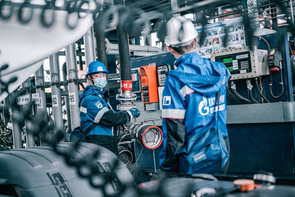 Winter Diesel Production at Gazprom Neft Moscow Refinery