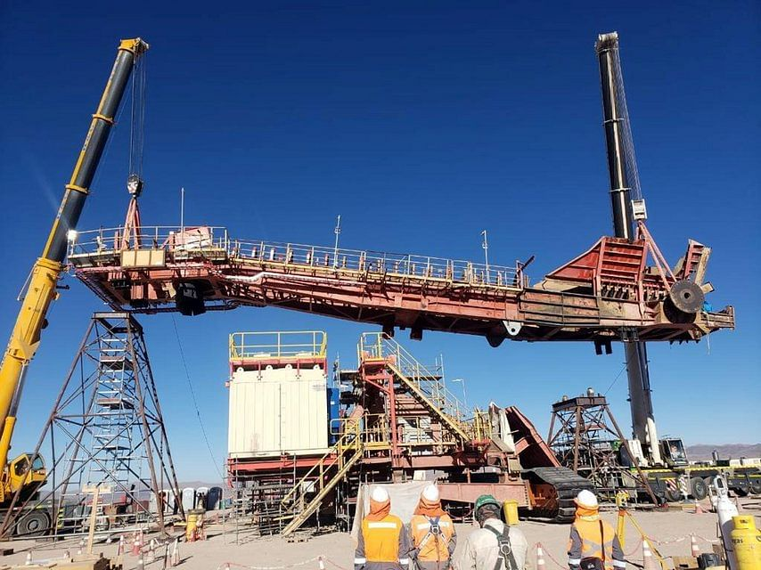 TAKRAF Completes Bucket Wheel Reclaimer Refurbishment in Chile