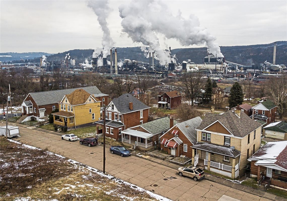 US Steel Claims Dip in Pollution near Clairton Plant Last Summer