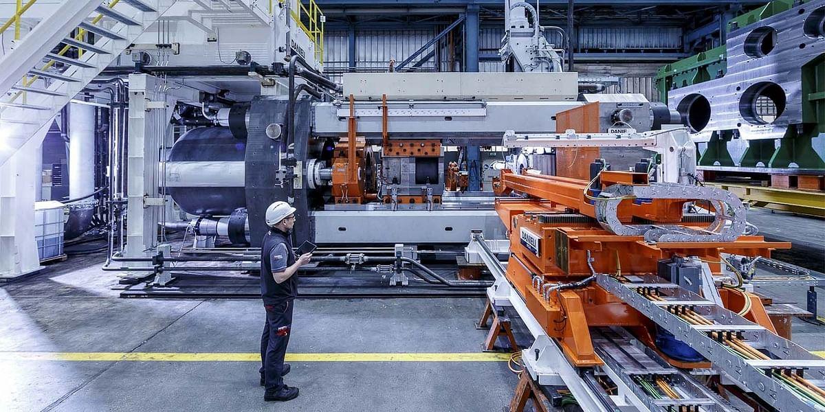 PMS Aluminium Orders Extrusion Press from Danieli