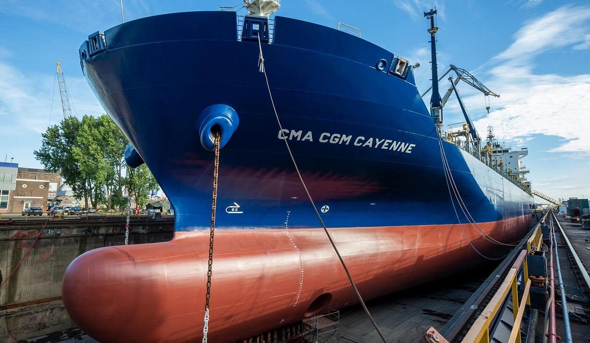 Damen Repairs Seven CMA CGM Vessels