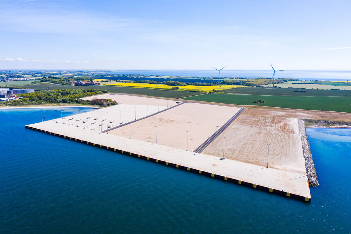 APM Terminals New Facility in Kalundborg in Denmark