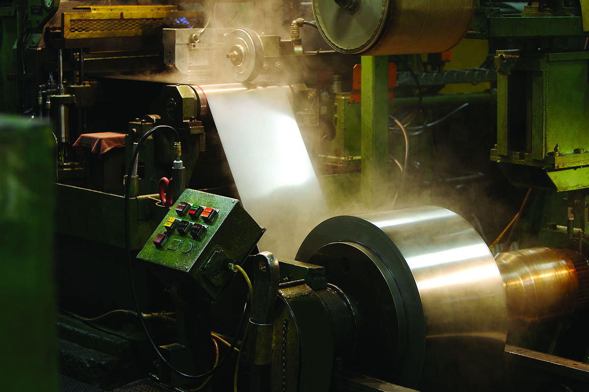 Ulbrich Stainless Steels Unveils New CR Mill at Wallingford plant