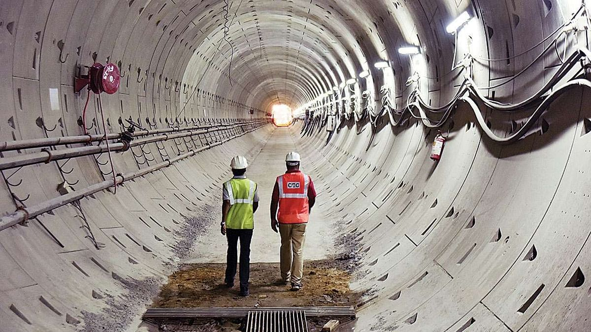 STEC Bags Tunnel Contract from Delhi Meerut RRRTS