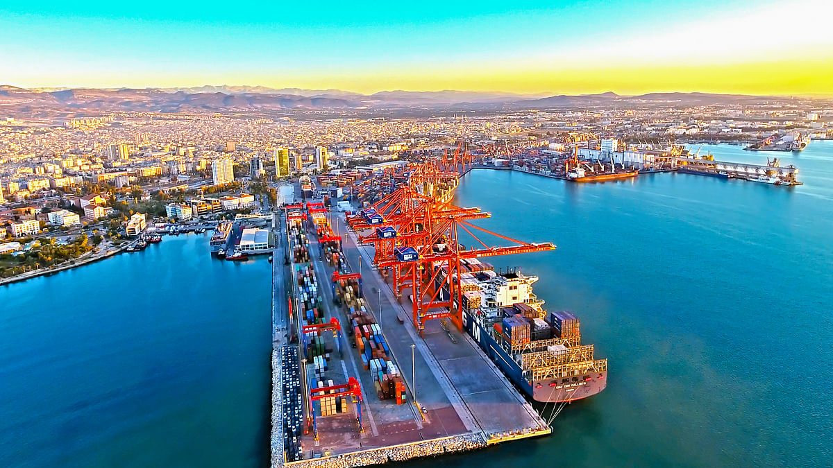 Mersin International Port Sets 2 MTEU Record in 2020
