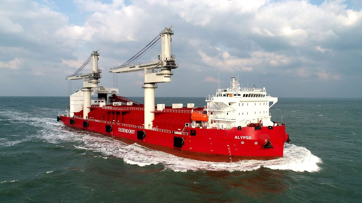 ABB Azipod Electric Propulsion in Bulk Carriers of Oldendorff