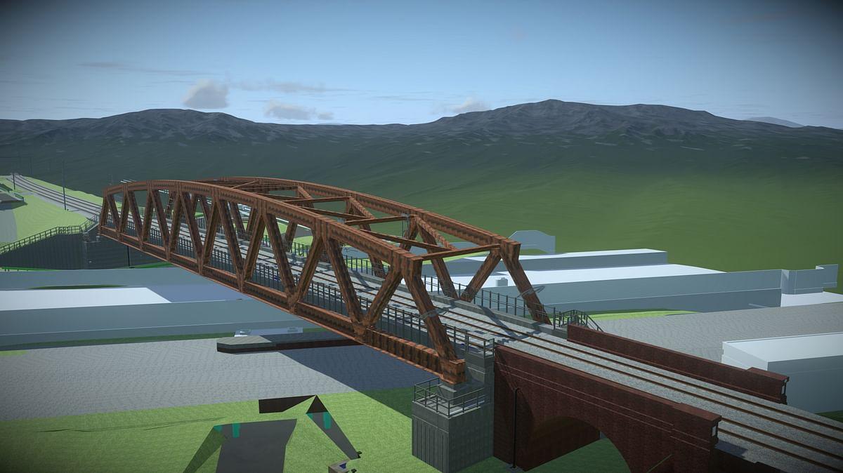 Skanska to Replace Network Rail Bridge in UK