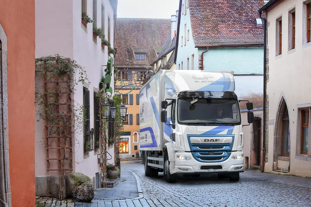 DAF LF Electric Trucks for Zero Emission Urban Distribution