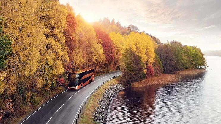 Volvo Buses Double Decker for Gothenburg to Boras Route