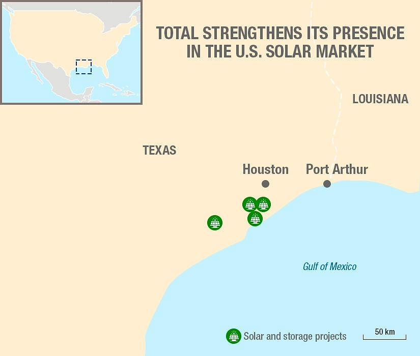 Total Increases Solar Portfolio in USA