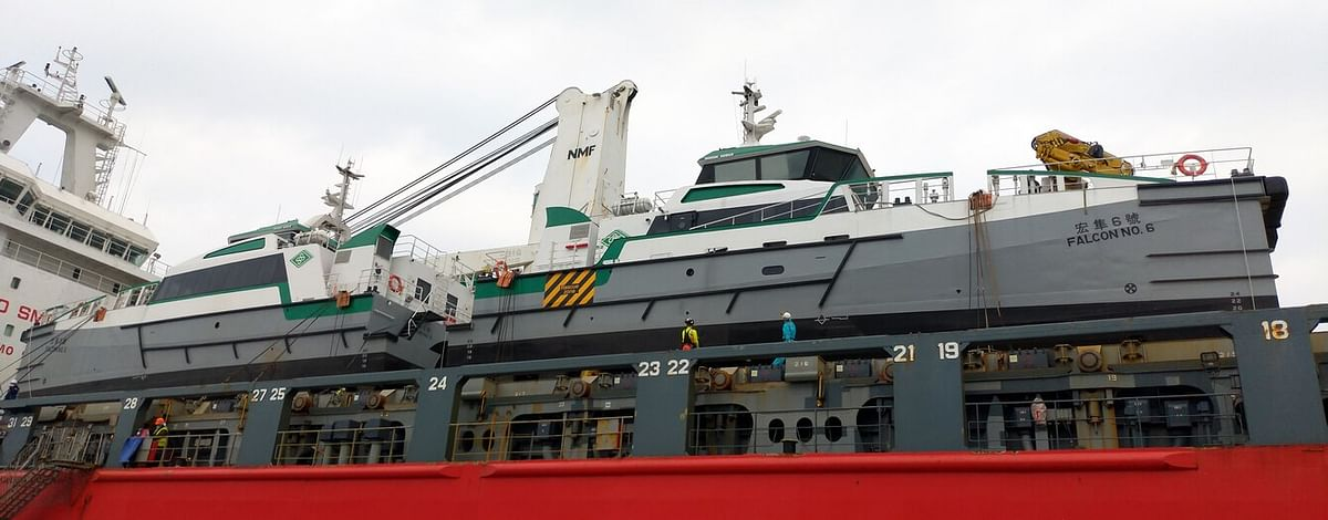 Damen Delivers 2 FCS 2710 Vessels to Hung Hua Construction Co