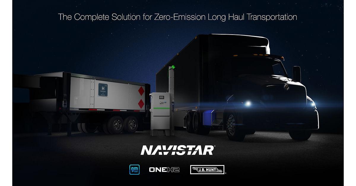 Navistar, General Motors & OneH2 to Launch Hydrogen Truck