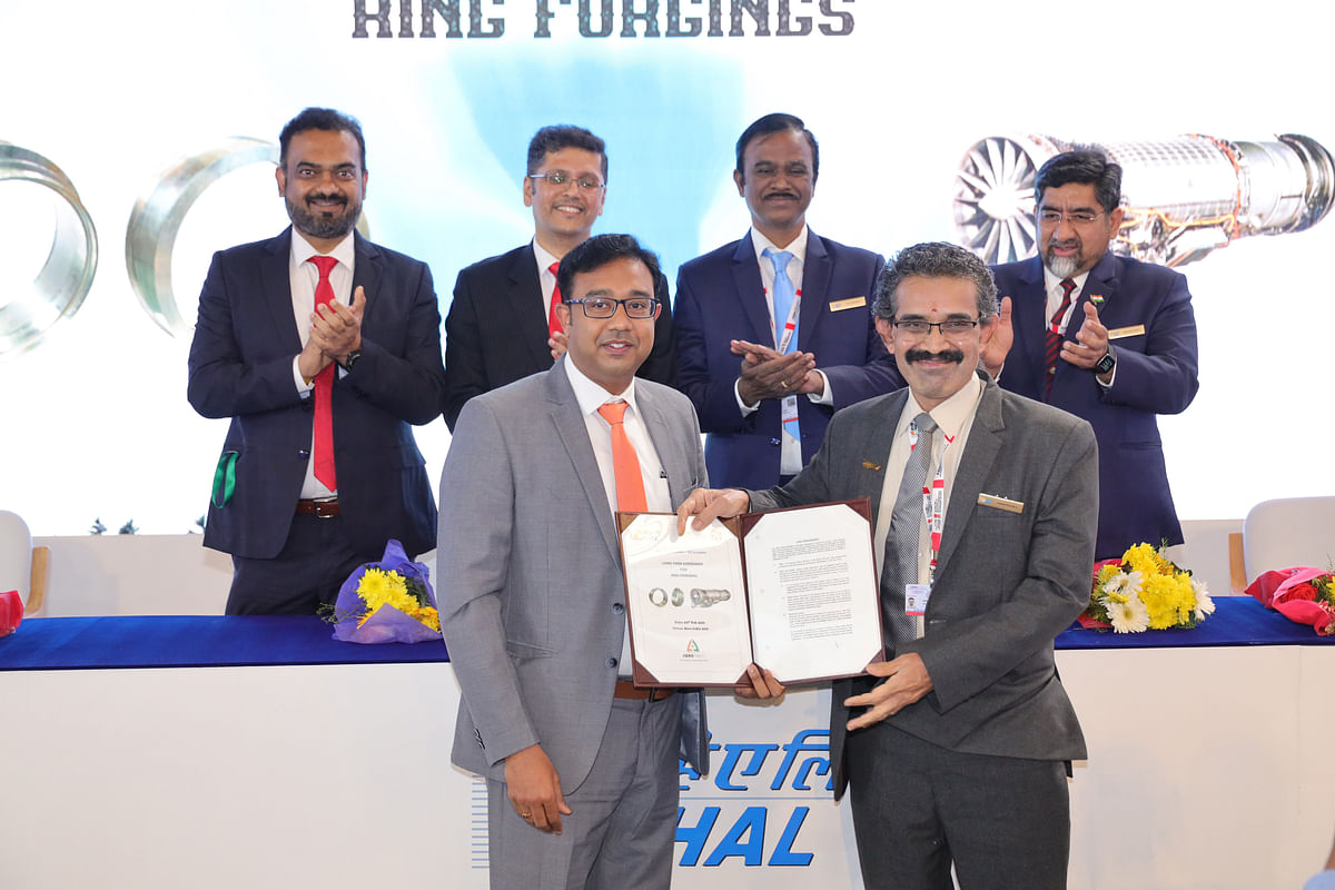 HAL & GE Aviation Sign Contract for Supply of Forgings