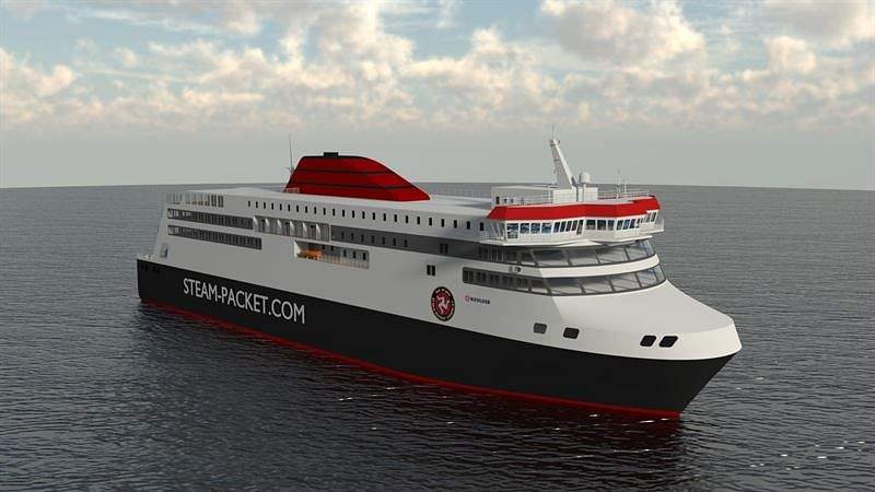 Wartsila's Hybrid Solution Selected for new Isle of Man Ferry