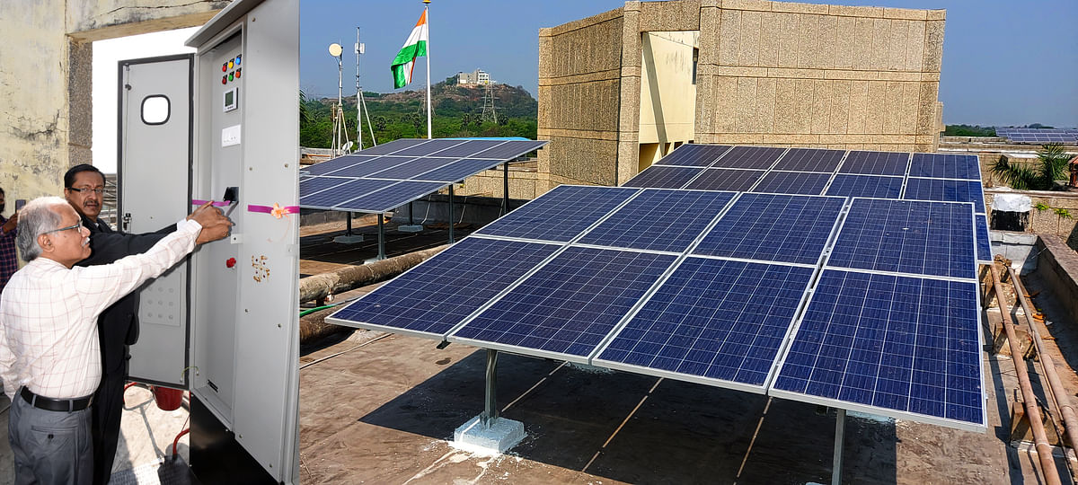Solar Power Plants Inaugurated at RINL