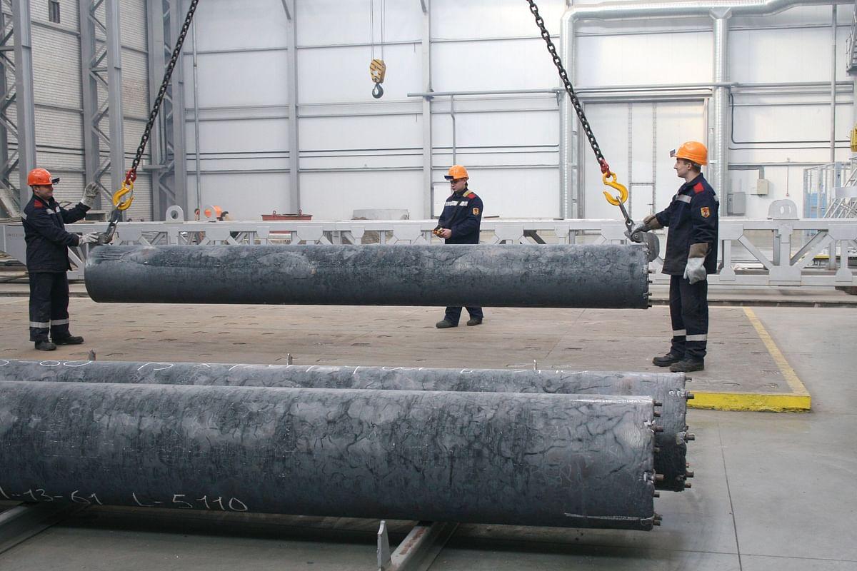 OMK Pipe Elements for Thermal Power Plant in Krasnoyarsk