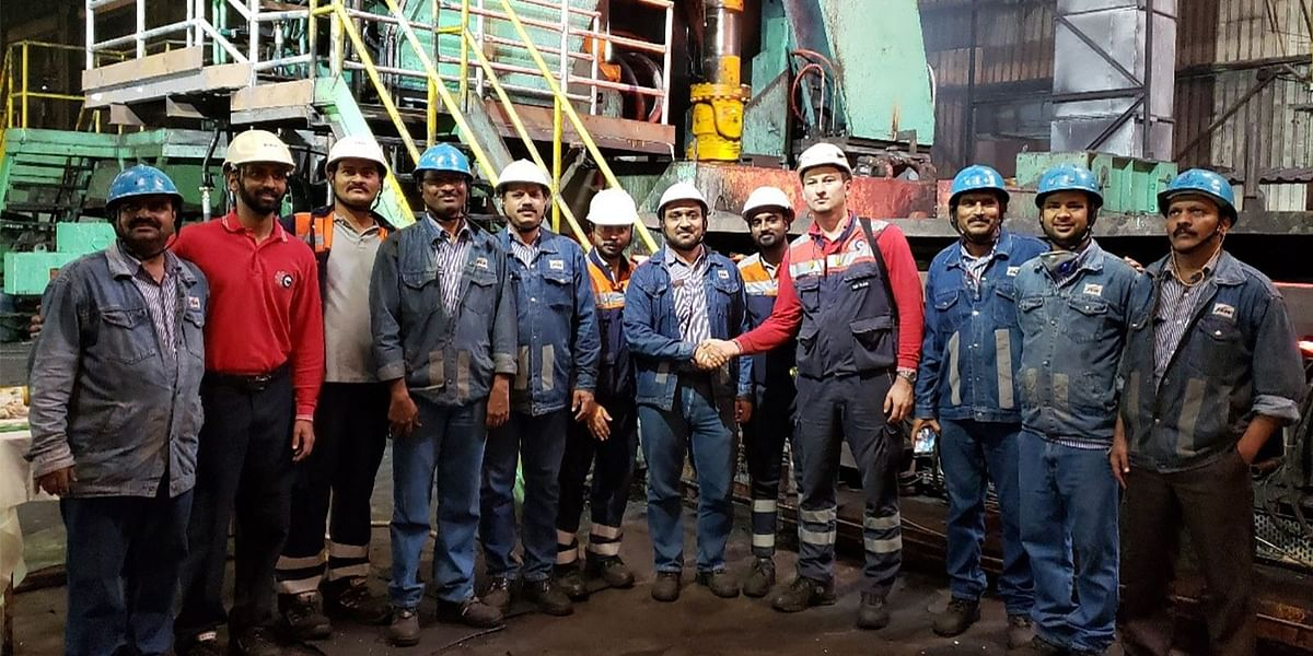 Danieli Modernizing Hot Strip Mill Vijayanagar Works of JSW Steel