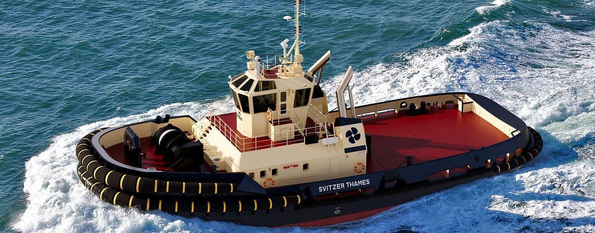 Svitzer Orders Damen ASD Tug 3212 Svitzer Thames