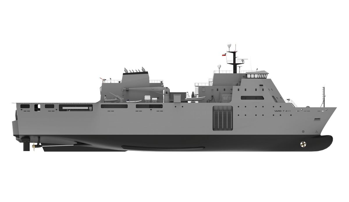 Vard Marine to Design of Amphibious & Military Sea Transport Ship
