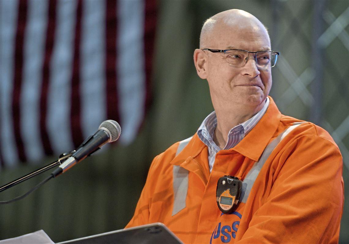 US Steel CEO Mr Burritt Bullish on Infrastructure Investing in US
