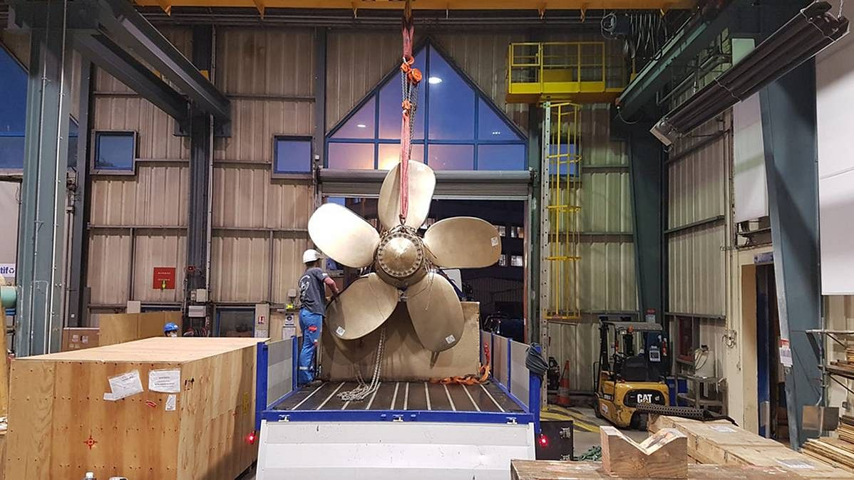 New Generation 3D Printed Propeller Certified by Bureau Veritas