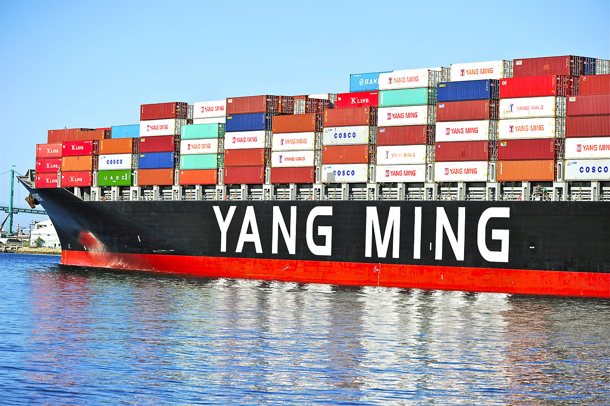 Yang Ming Takes Delivery of 11,000 TEU Ship YM Target