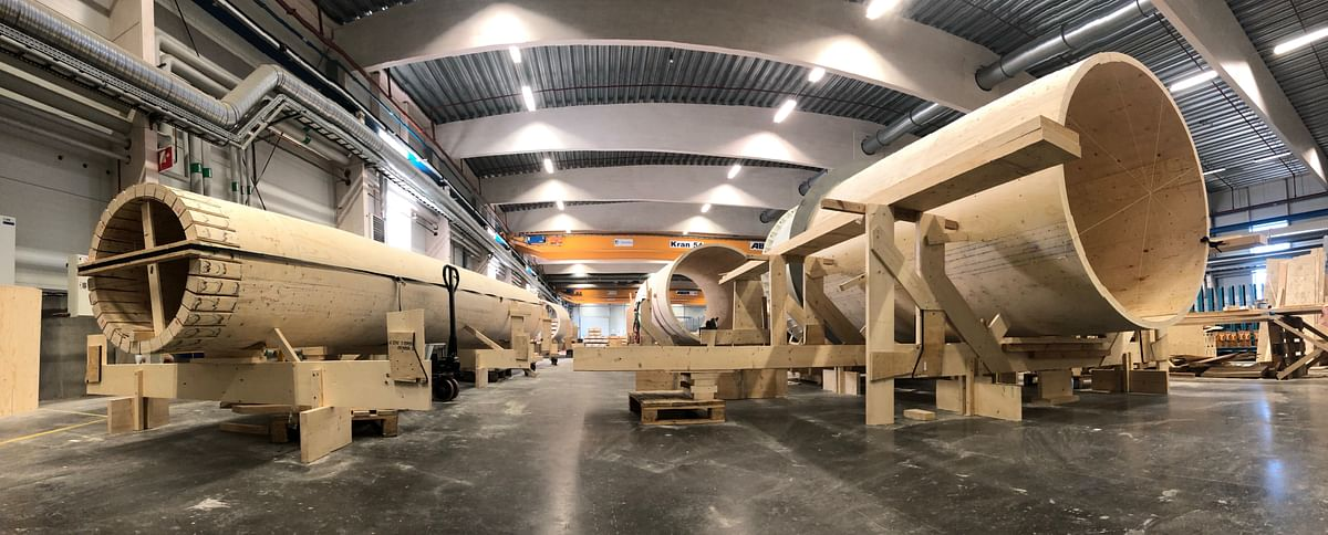 Vestas Invests in Wooden Wind Turbine Towers Maker Modvion
