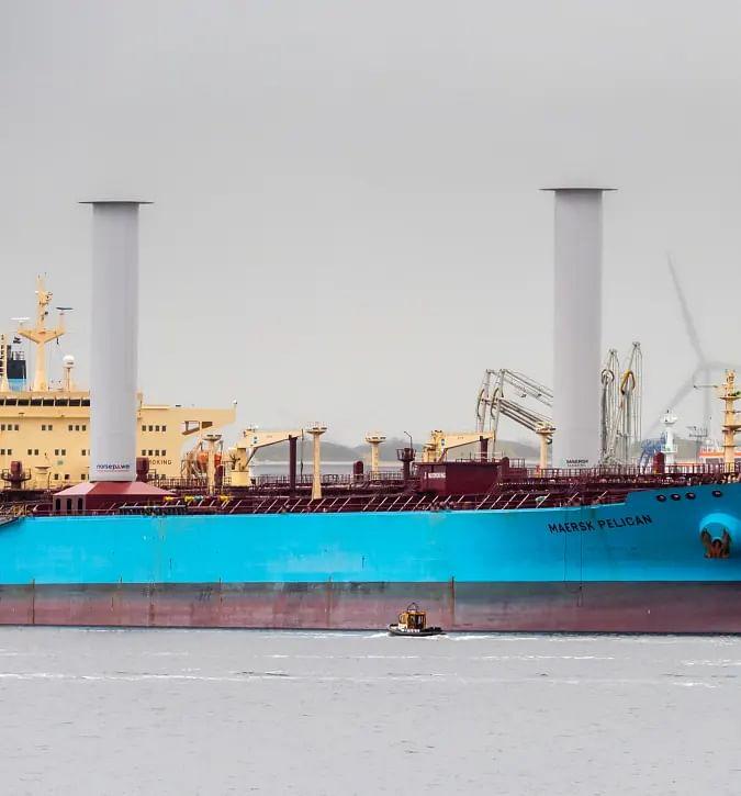 Maersk Pelican Renamed as Timberwolf
