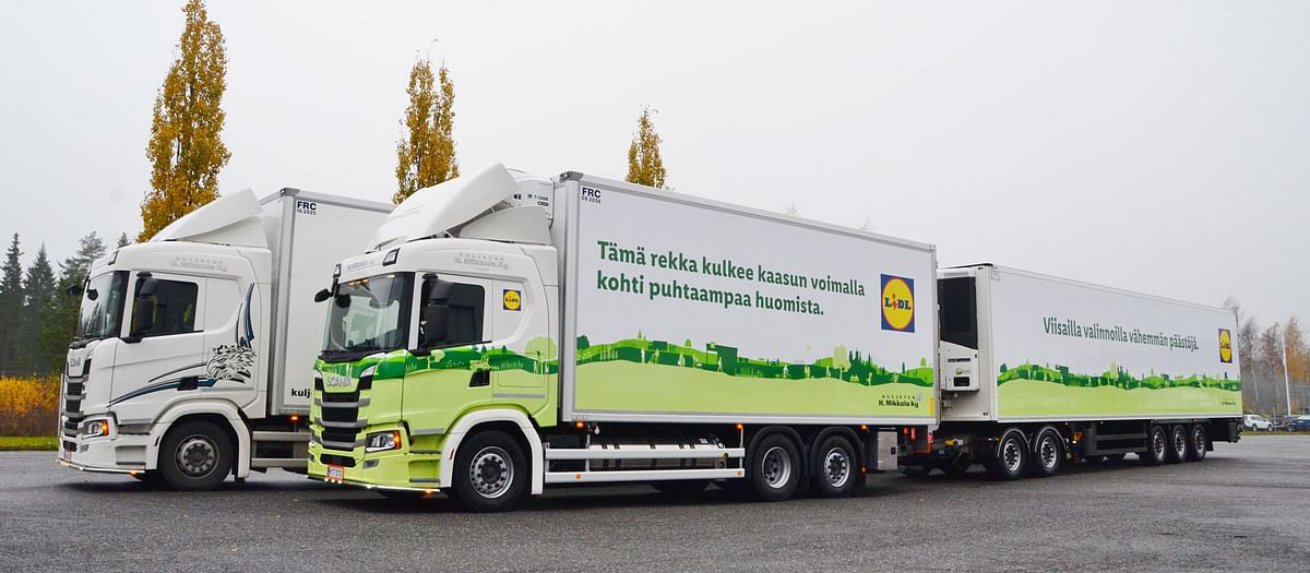 Finnish Transport Harri Mikkola Cuts Emissions in Scania G 410