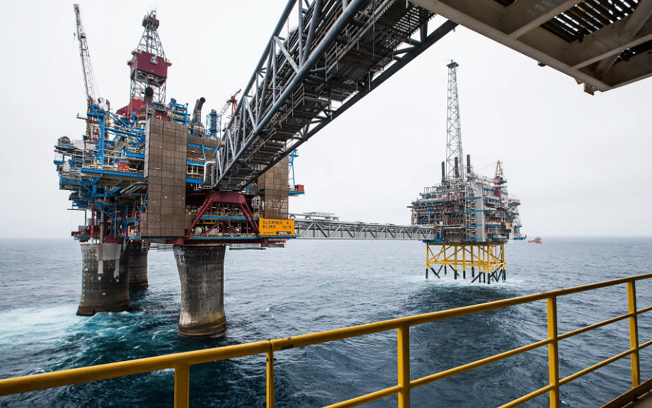 MOL Norge Dry Well at Mandal High in Southern North Sea