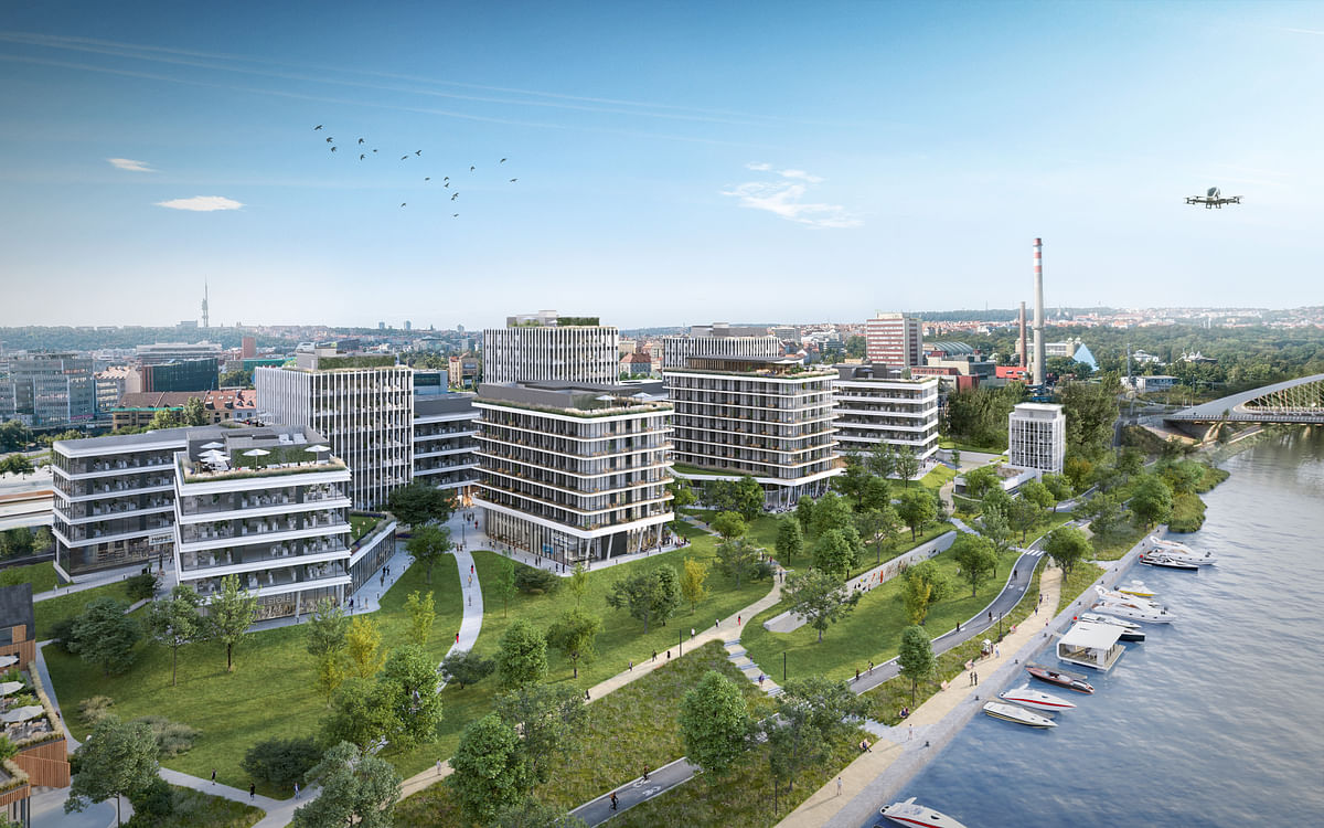 Skanska Investing in Equilibrium Office Project in Bucharest
