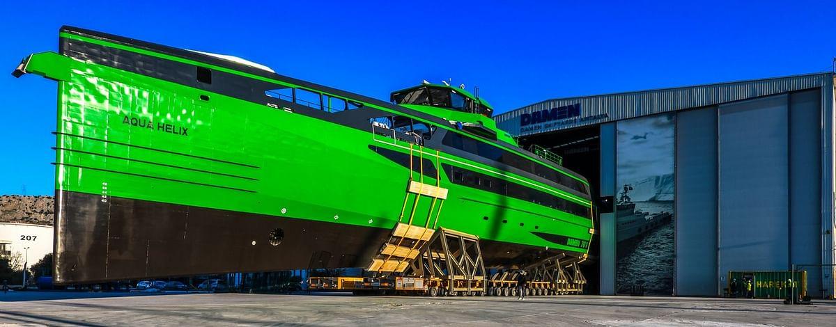 Damen Launches Fast Crew Supplier 7011 at Antalya