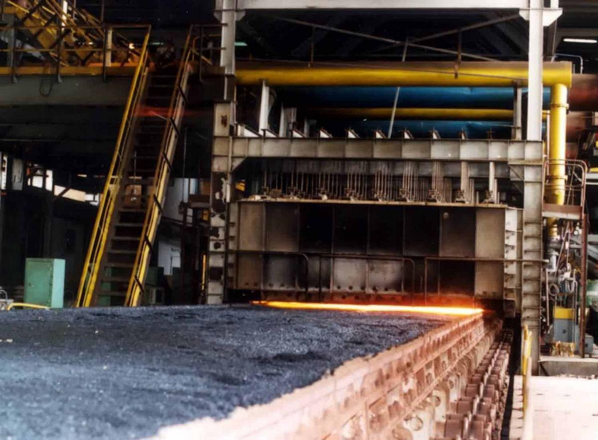 Fire Damages Conveyor Belt at RINL VSP Sinter Plant