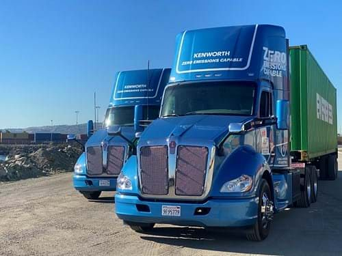 Kenworth Electric Prototype Trucks for Commercial Service
