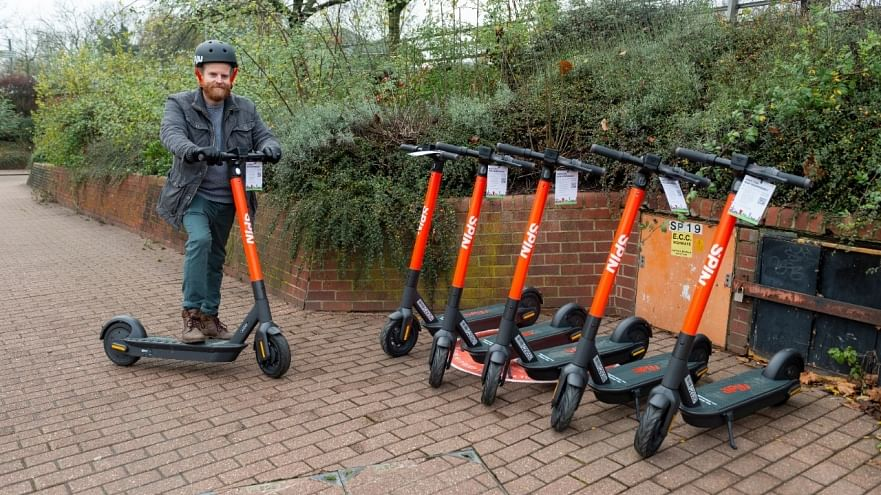 Colchester Added to Spin's E-Scooter Share Service