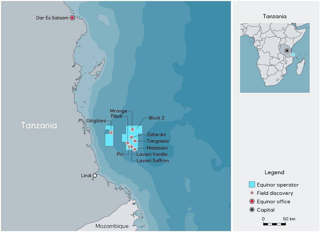 Equinor Takes Impairment at Tanzania LNG Project