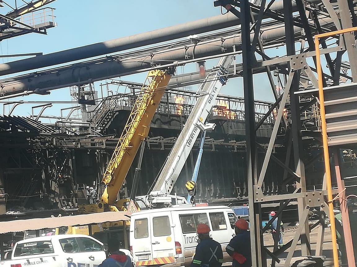 3 Killed in Coke Oven Stack Collapse at ArcelorMittal South Africa
