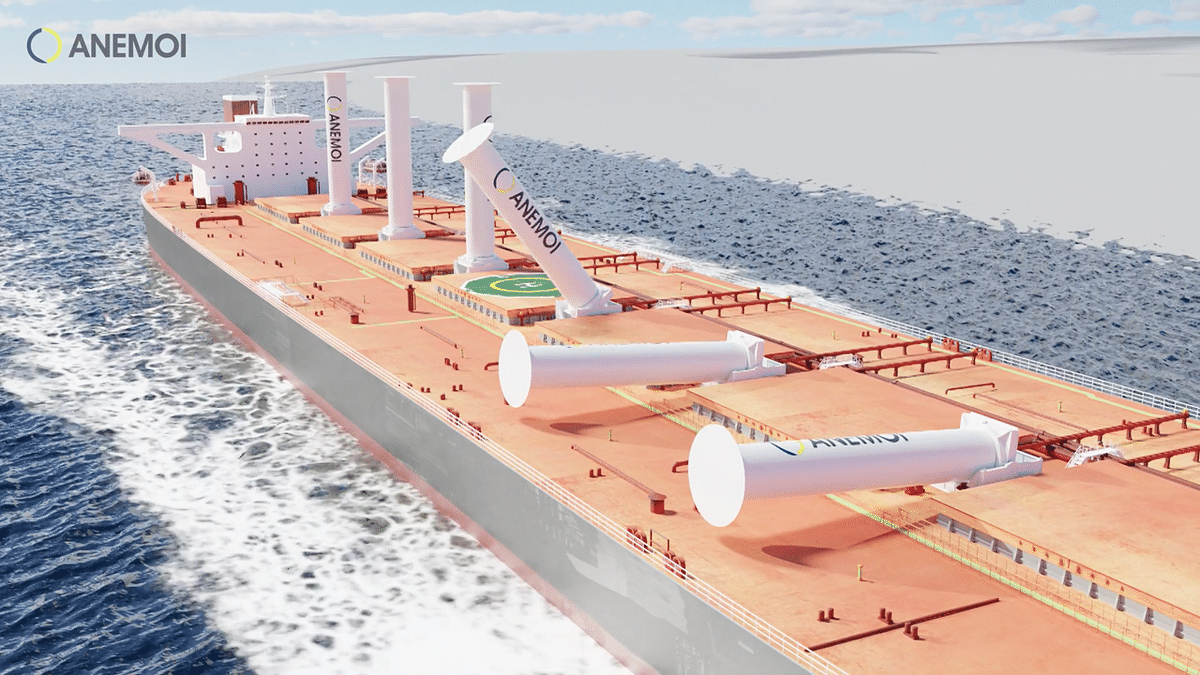 Anemoi Wind Propulsion for Dry Bulk Carriers of Oldendorff